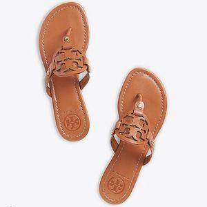 9c8bbe46d0110d Tory Burch Miller Sandal size 9 brown
